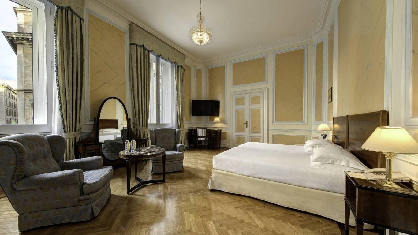 Hotel Quirinale Rome Junior Suite