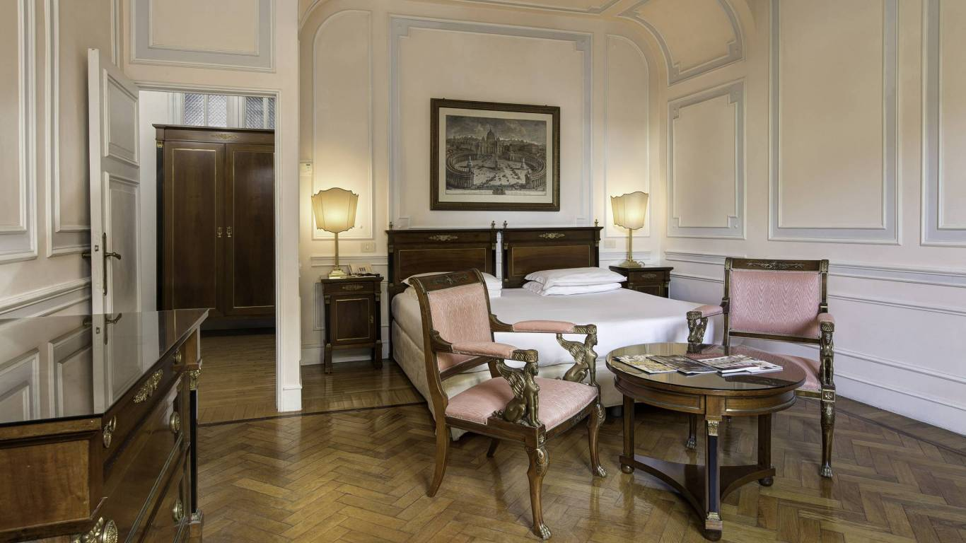 Hotel Quirinale Rome Our Rooms