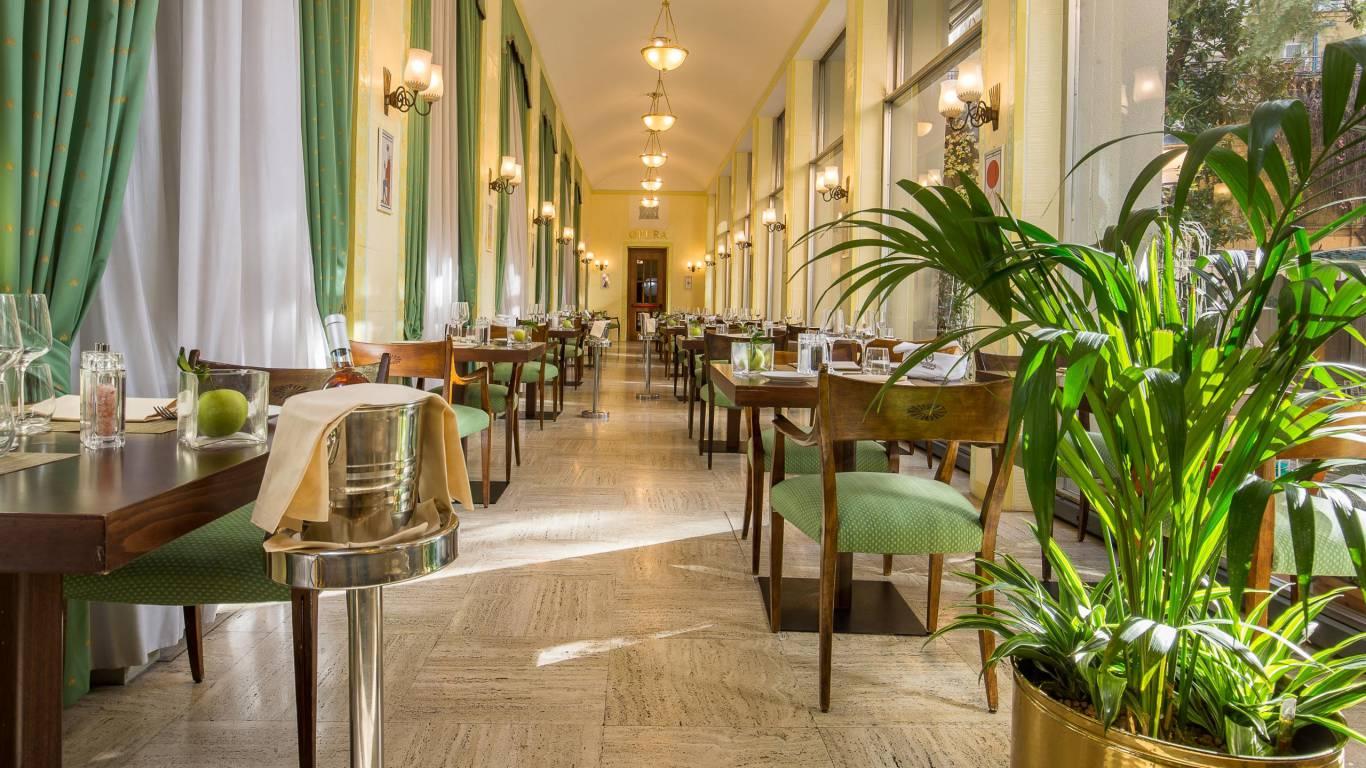 Hotel Quirinale Rome Rossini Restaurant